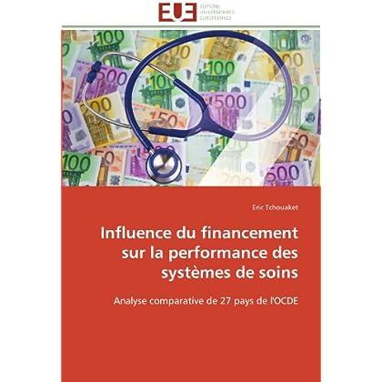 Influence du financement sur la performance des systèmes de soins