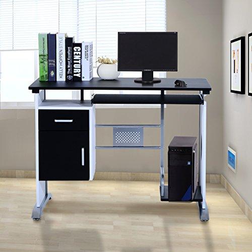 Mesa de Ordenador PC Despacho Escritorio 100x52x75cm Oficina Mobiliari