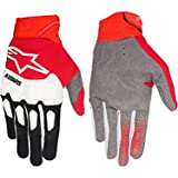 Alpinestars black-red-white 2018 racefend MX guantes
