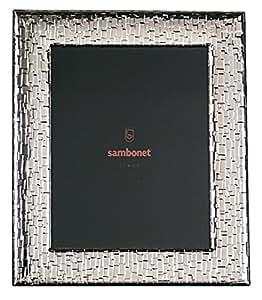 Sambonet flat wohndeko cadre photo argenté, cadre 20 x 25 cm, 59660L43