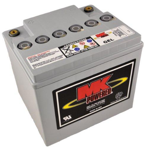 MK M40–12SLD G–Batteria di gel per sedie a rotelle e moto, 12V, 40Ah