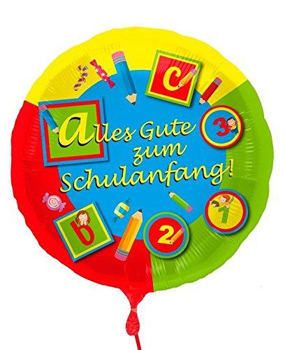 Set Einschulung 7 tlg. Girlande Wimpelkette Folienballon etc. Schulanfang - 8