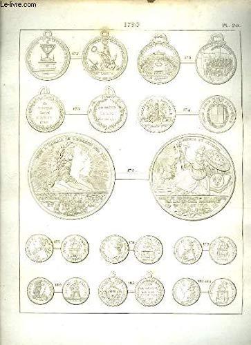 Histoire Numismatique de la Révolution Française. Planche N°20 : 1970 par HENNIN et VERAN