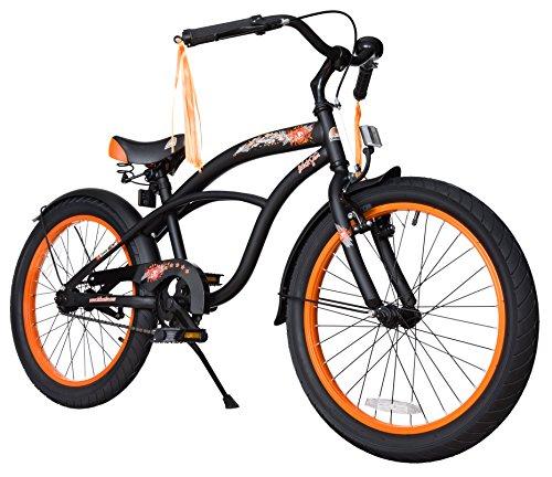 BIKESTAR Premium Sicherheits Kinderfahrrad 20 Zoll für Jungen ab 6 - 7 Jahre ★ 20er Fahrrad für Kinder...