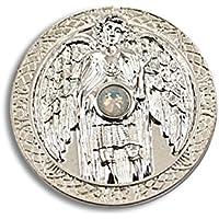 Engeltaler Gabriel Schutzengel Talisman der Klarheit versilbert mit Kristall, Ø 27mm, Glücksbringer Glücksmünze... preisvergleich bei billige-tabletten.eu