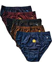 Rupa Jon Women's Cotton Panties (Pack of 5) Color May Vary