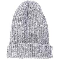 VORCOOL Casual Unisex cálido de Invierno Sombrero de Punto Gorros Gorros de Calavera para Mujeres Hombres Chicas Chicos (Gris Claro)