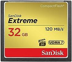 SanDisk Extreme 32 GB UDMA7 CompactFlash Card - Black/Gold