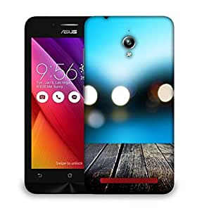 Snoogg Bokeh With Wooden Floor Designer Protective Back Case Cover For Asus Zenfone GO