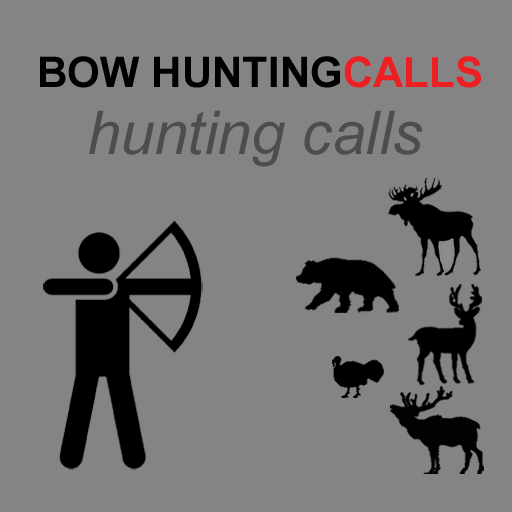 Bow Hunting Calls & Archery Calls for Big Game Hunting - (ad free) BLUETOOTH COMPATIBLE (Laser Target Electronic)