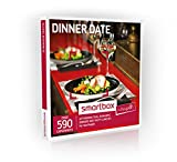 Buyagift Dinner Date Gift Experiences Box - 590 gourmet gift experiences from afternoon tea to wine tasting