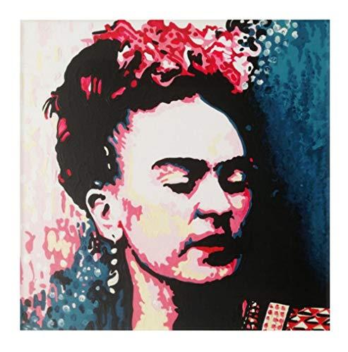 FRATTA Frida Kahlo-cuadro moderno pintado mano-Pop