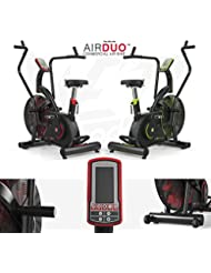Exercise Bike Commercial Air Bike Dual Action Fan Bike Full Body Gym Workout Crossfit - By We R Sports