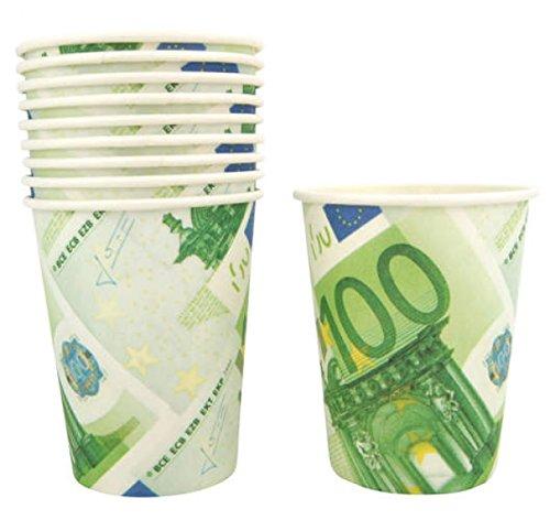 Les 10 timbales gobelets en carton design 100 euros