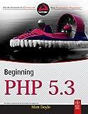Beginning PHP 5.3 (WROX)