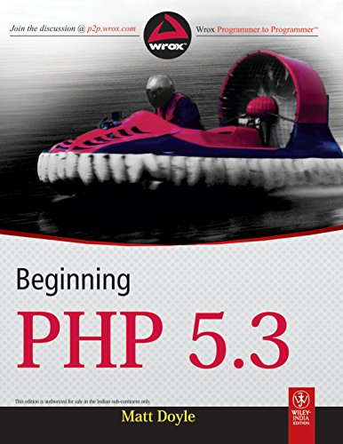 Beginning PHP 5.3 (WROX)