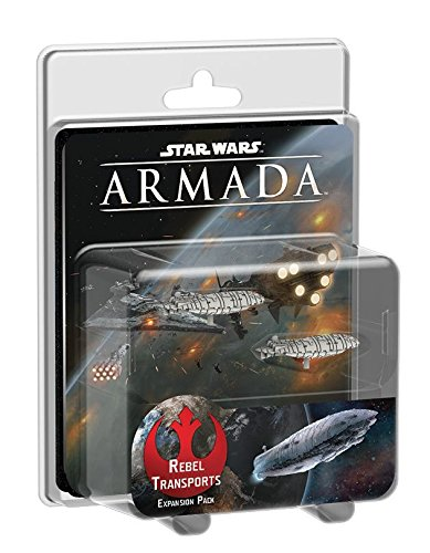 Fantasy Flight Games Star Wars Armada: Rebel Transports Erweiterung (Wars-flotte Star)