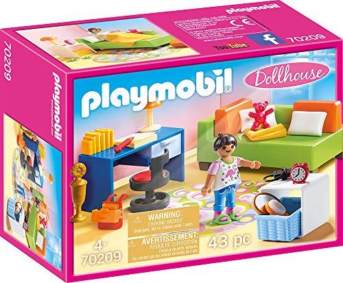 Playmobil 70209 Dollhouse Jugendzimmer, ab 4 Jahren, bunt, one Size - Bett, Jugend-schlafzimmer-set
