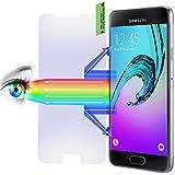 2 x PROTOMAX Schutzglas für Samsung Galaxy A5 (6) 2016, Panzerglasfolie mit BLAULICHTFILTER PROEYE, 2er Pack