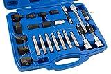 Llaves para desmontar y extraer poleas de alternador Extractor de 24 piezas