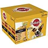 Pedigree Dog Pouches Real Meals in Gravy, 24 x 100 g, Pack of 2 (Total 48 Pouches)