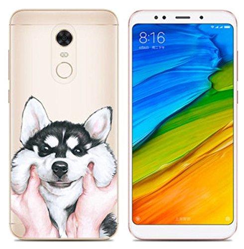 Prevoa Funda para Xiaomi Redmi 5 Plus - Colorful Silicona TPU Funda Case para Xiaomi Redmi 5 Plus Smartphone 5,99 Pulgadas - 13
