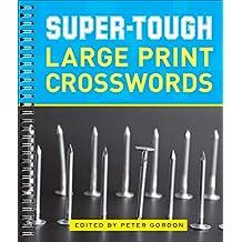 Super-Tough Large Print Crosswords