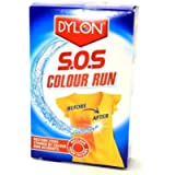 Dylon Colour Run Remover for Machine or Hand Use (2 Sachet Pack) by Dylon