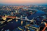 GREAT ART London bei Sonnenuntergang Wanddekoration -