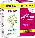 Hipp Babysanft Feuchttücher zart pflegend, 3er Pack (3 x 4x56 Tücher) 672 Tücher