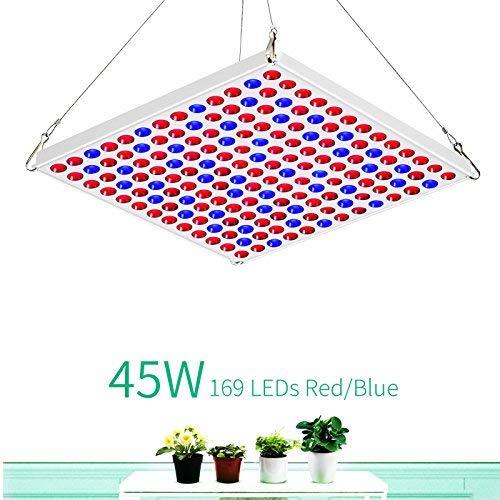 LED Pflanzenlampe 45w Toplanet Led Grow Light Panel Rot Blau Licht Indoor Hydroponik Gewächshaus Grow Box Gemüse Growth Sämling Wachstum