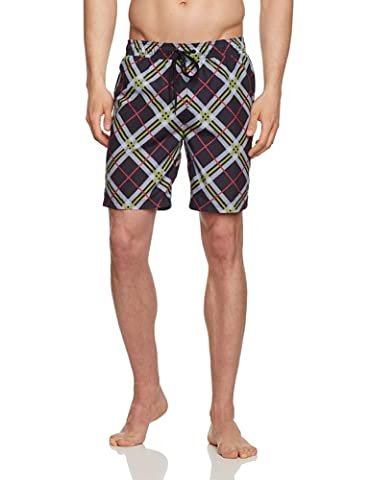 Speedo Swimshort For Men Waveturn Print Leisure multi-coloured Nero/Acid/Post It