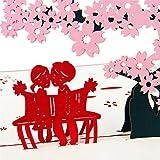 Jiamins Hochzeits-Einladungs-Buchstabe-3D Karten-Umschläge versiegelt kundenspezifisches personifiziertes Drucken