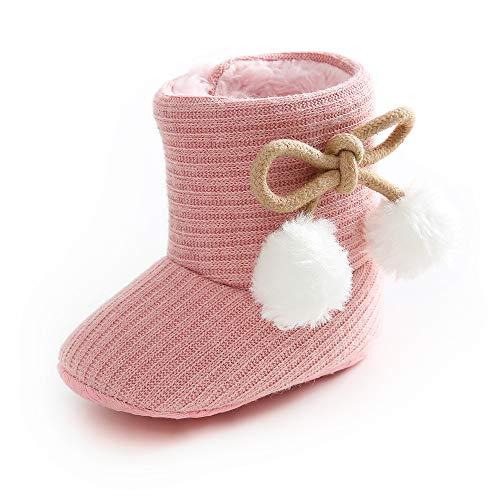 LACOFIA Botas de Invierno para bebé Patucos Antideslizante de Suela Suave cálida para bebé niñas...