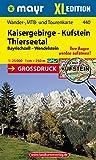 Kufstein-Kaisergebirge-Thierseetal XL: Wander-, MTB- und Tourenkarte 1:25000 GPS-genau (Mayr Wanderkarten)