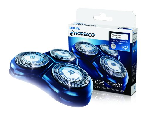 Philips Norelco HQ8 Sensotec Spectra (3 Pack) For Use With Philips Shavers: 7100 Series, 7200 Series, 7300 Series, 8400 Series, 8800 Series, shaver heads razor blades cutters and foils replacement shaving head.
