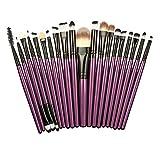 Best Niceeshop Lip Brushes - niceEshop(TM) 20pcs Makeup Brush Set Makeup Brushes Professional Review