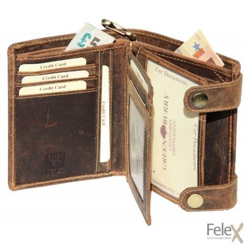Greenburry Geldbörse 12,5 x 3 x 10 cm sattelbraun