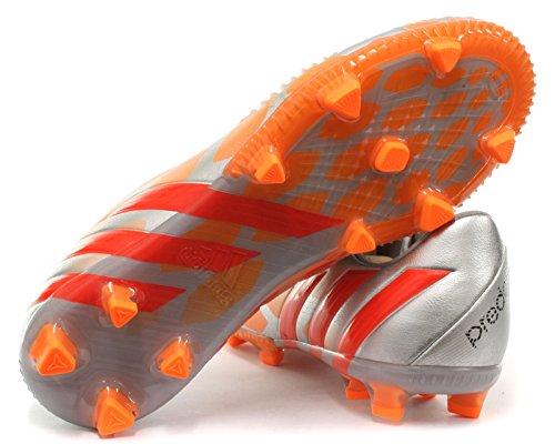 adidas Predator Instinct Fg, Chaussures Femme Silvmt/Solred/Gloora