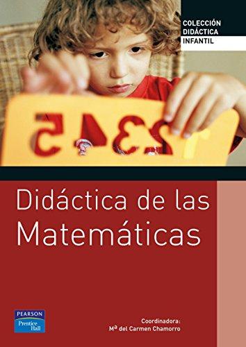 Didáctica de las matemáticas para educación infantil (Coleccion Didactica) - 9788420548074 por María del Carmen Chamorra Plaza