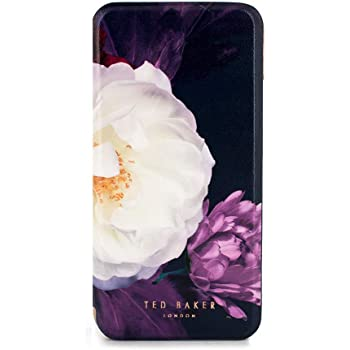 5752d22727a7 Ted Baker CANDEECE Highly Protective Mirror Folio Case for iPhone X XS -  Blushing Bouquet