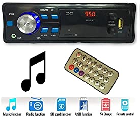 Gadget Deals 2002 Car Stereo Media mp3 Music System Player (FM/AUX/USB/MMC)