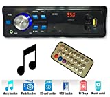 #9: Gadget Deals 2002 Car Stereo Media mp3 Music System Player (FM/AUX/USB/MMC)