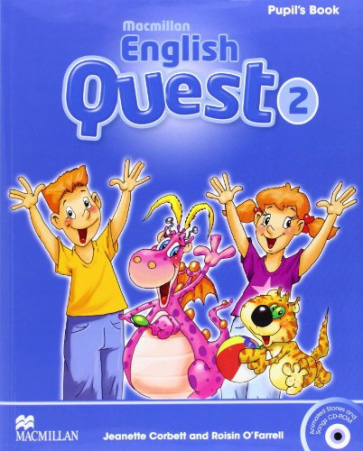 Macmillan English Quest Pupil's Book Level 2 + CD (Macmillan English Quest Level) por Jeanette Corbett
