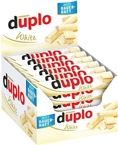 Ferrero Duplo Blanc Gaufrette 18g - Lot de 40