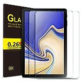 ELTD Panzerglas Schutzfolie für Samsung Galaxy Tab S4 T830/T835,Rounded Corners 2.5D, 9H Härte, gehärtetes Glas Display Schutzfolie für Samsung Galaxy Tab S4 T830/T835 10.5 Zoll 2018 [2 Stück]