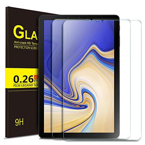 ELTD Glas Bildschirmsfolie für Samsung Galaxy Tab S4 T830/T835, Ro&ed Corners 2.5D, 9H Härte, gehärtetes Glas Bildschirmschutz Glasfolie Panzerfolie für Samsung Galaxy Tab S4 T830/T835 10.5 Zoll (2 Stück)