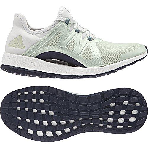 Zapatillas adidas PureBoost Xpose verde claro blanco mujer