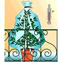 Thermosacs - Lote de 12 Cubiertas antiheladas para Plantas (6 pequeñas y 6 Grandes)