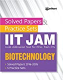 Solved Papers & Practice Sets IIT JAM (Joint Admission Test for M. Sc. From IITs) - Biotechnology
